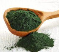 სპირულინას ფხვნილი (წყალმცენარე) / spirulina powder, 200g