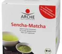 მწვანე ჩაი სენჩა-მატჩა (ბიო) / sencha-matcha tea,  10 p.