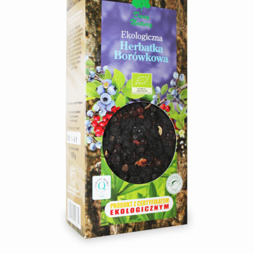 მოცვის ჩაი (ბიო)/ blueberry tea, 100 გრ